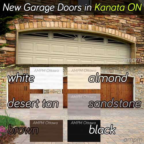 Garage door installation services in Kanata Ontario